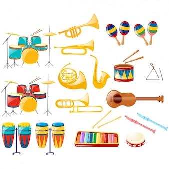 Musikinstrumente sammlung