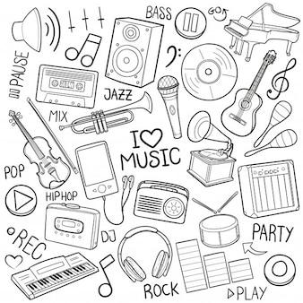 Musikinstrumente und gadgets