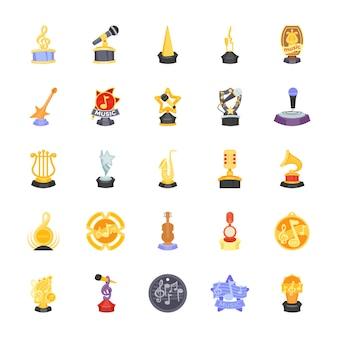 Musikpreis-statuetten-symbol