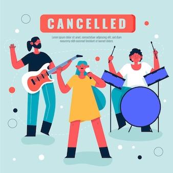 Musikveranstaltungen abgesagt