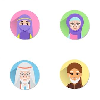 Muslimischer avatar