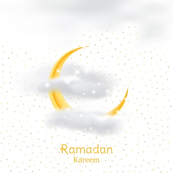 Muslimisches fest des heiligen monats ramadan kareem