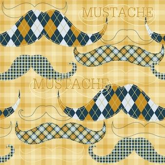Mustache tapete