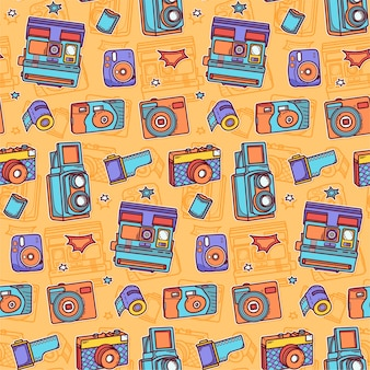 Muster der bunten kamera