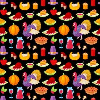Muster für erntedankfest