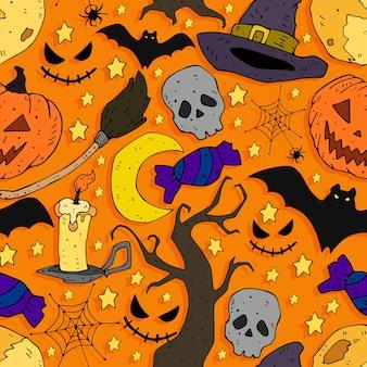 Muster für halloween