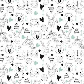 Muster für kind