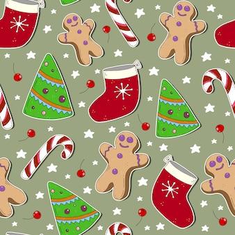Muster für weihnachten