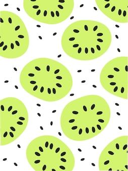 Muster-kiwi-frucht
