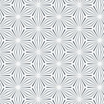 Muster mit abstrakten linien
