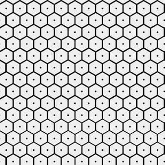 Muster mit bienenstock form