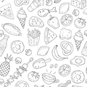 Muster mit essen