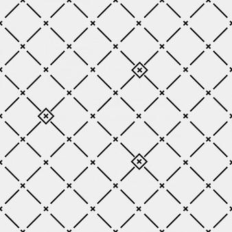 Muster mit kreuzen gemacht