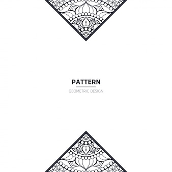 Muster mit mandala