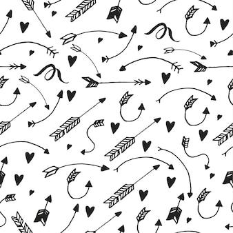 Muster mit pfeilen
