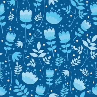 Muster mit pflanzen