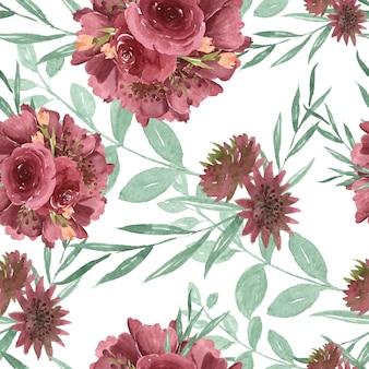Muster nahtlos floral