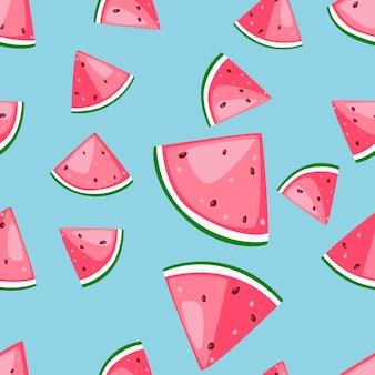Muster nahtlose früchte