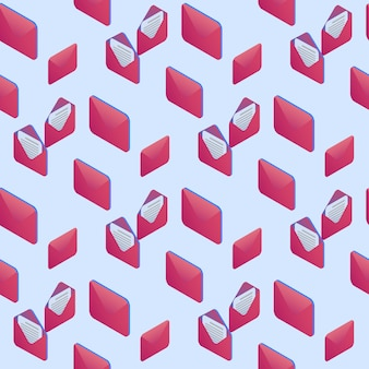 Muster ornament umschläge und digital clipart.