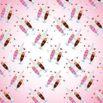 Muster schokoladeneis