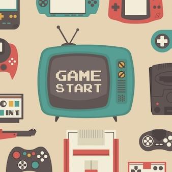Muster über videospiele