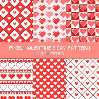 Muster-valentinstag-muster-liebe und leidenschaft
