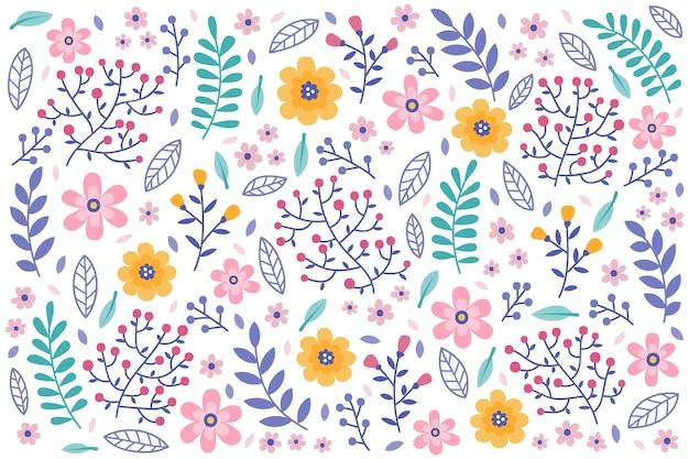 Muster-weißhintergrund der weißen gänseblümchen nahtloser