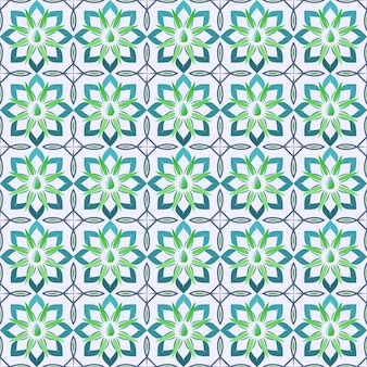 Musterillustration der geometrischen form des cakra