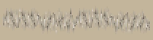 Musterkreishintergrund von der illustration
