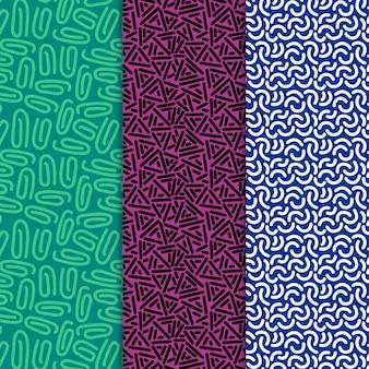 Mustersatz für abgerundete linien