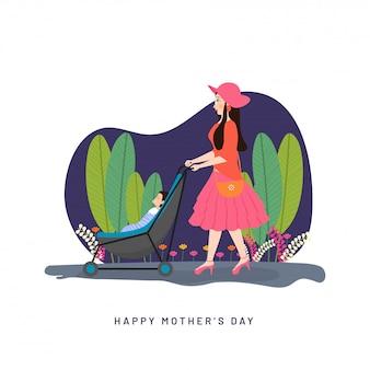 Muttertag-hintergrund.
