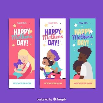 Muttertags-fahnensammlung