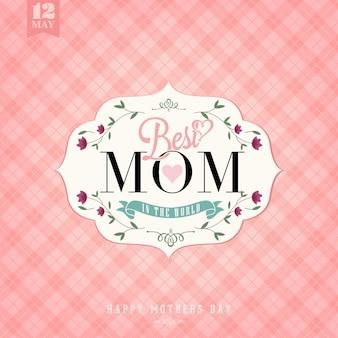 Muttertags-hintergrund-design
