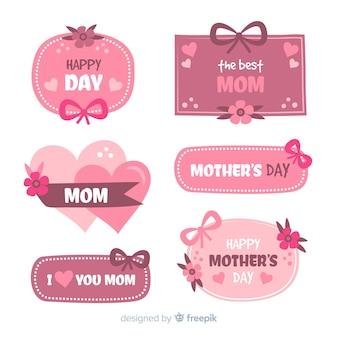 Muttertags-labelsammlung