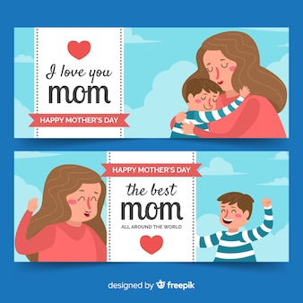 Muttertagsfahne