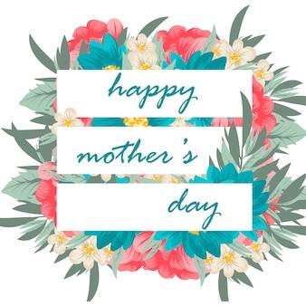 Muttertagsgrußkarte