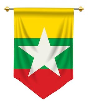 Myanmar-wimpel