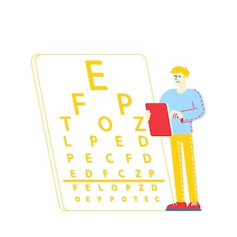 Myopie oder kurzsichtigkeit erkrankungen des auges und des optischen systems