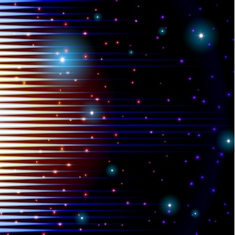 Mystisches glänzendes solides zeichen mit scheinen