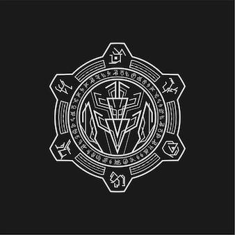 Mythische symbollegende