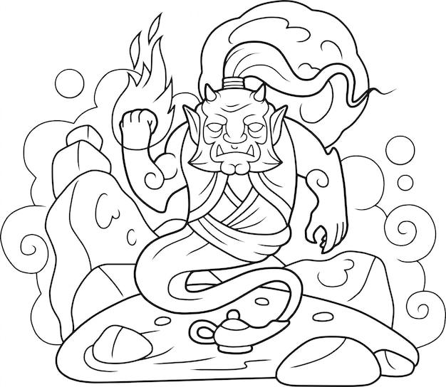 Mythologischer geist