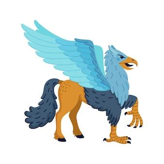 Mythologischer tier-hippogriff