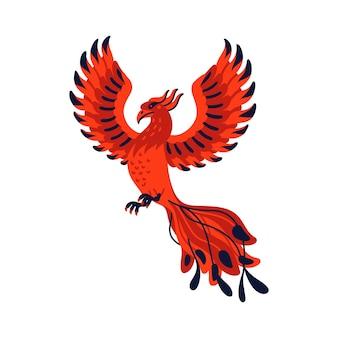 Mythologischer vogel phönix