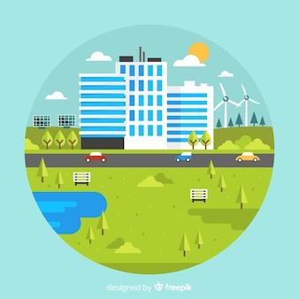Nachhaltige entwicklung und ökosystemkonzept