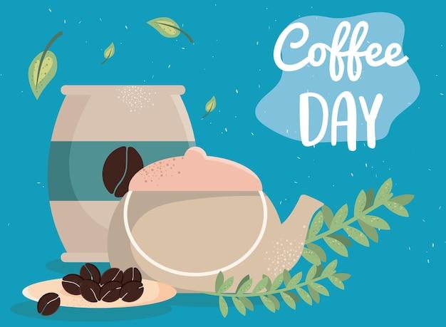Nachricht zum kaffeetag