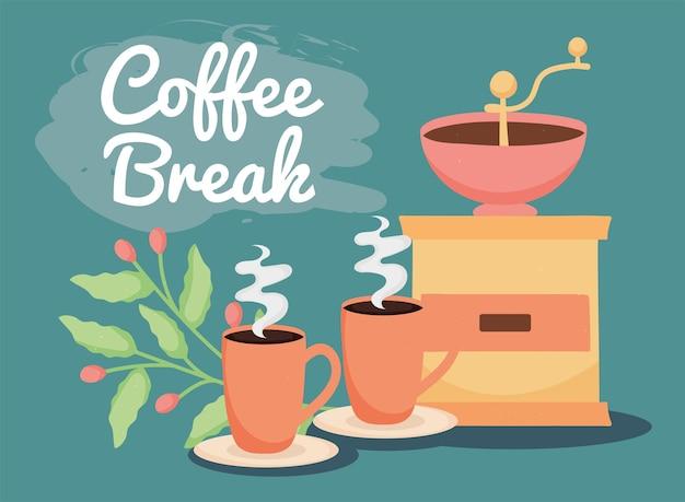 Nachricht zur kaffeepause