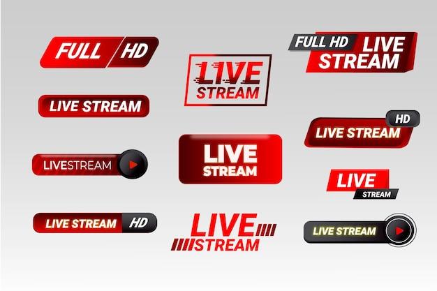 Nachrichtenbanner live-streaming
