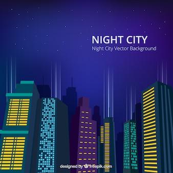 Nacht-stadt-hintergrund