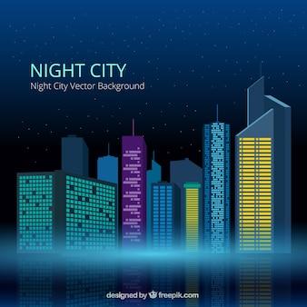 Nacht stadt hintergrund