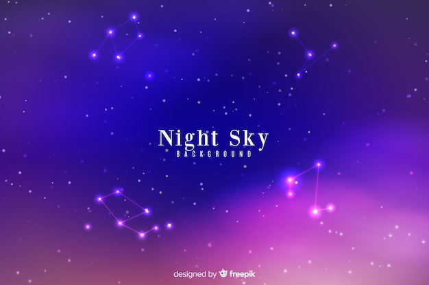 Nachthimmel hintergrund